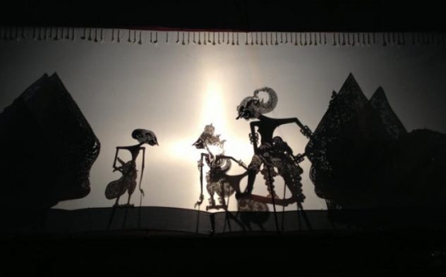 wayang kulit dieng culture festival