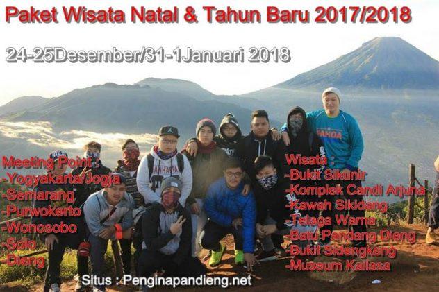 Paket Wisata Natal dan Tahun Baru dieng 2017/2018